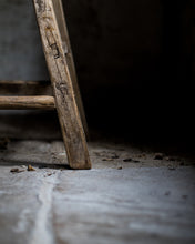 Load image into Gallery viewer, Rustic wooden stool
