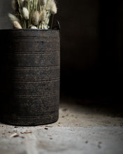 Load image into Gallery viewer, Wooden Tibetan pot with chain
