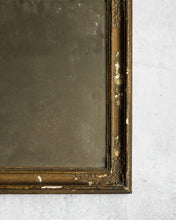 Load image into Gallery viewer, Antique gold French mirror