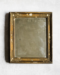 Antique gold French mirror