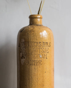 Old stoneware bottle