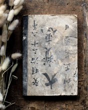 Load image into Gallery viewer, Antique Japanese shopkeeper's book 1