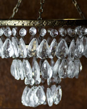 Load image into Gallery viewer, Vintage 3 tier waterfall chandelier