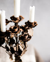Load image into Gallery viewer, Rustic French candelabra