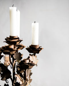 Rustic French candelabra