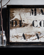 Load image into Gallery viewer, Rustic French wooden sign