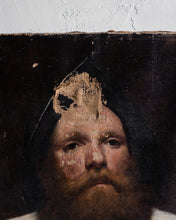 Load image into Gallery viewer, Antique painting of old man