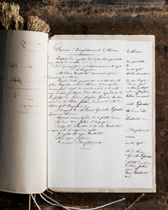 Antique French document '16. Juin 1868'