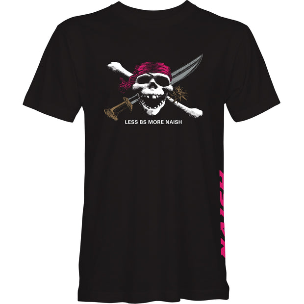 Less BS Pirate Tee