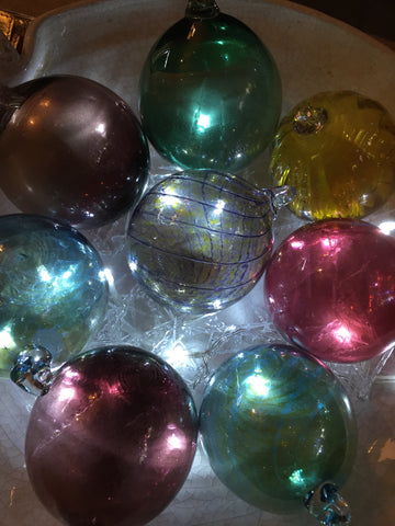 Glass Baubles