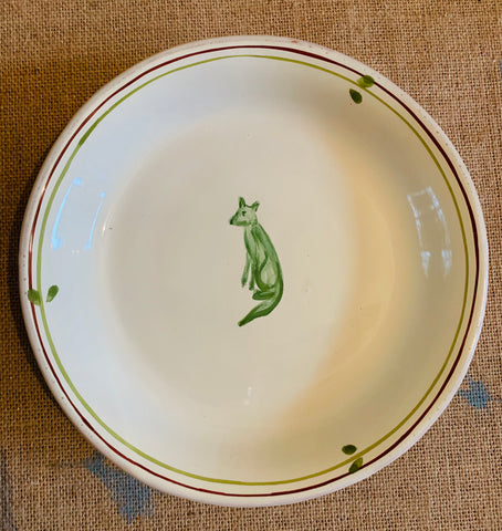 Green Fox Small Plate