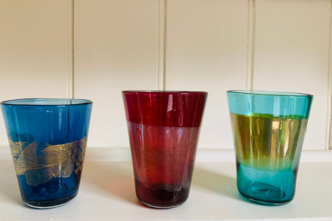 Banded Jewel Beakers