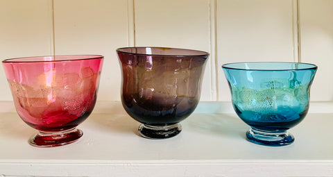 Banded Jewel Bowls