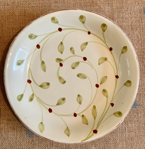 Leaf Pattern Small Plate