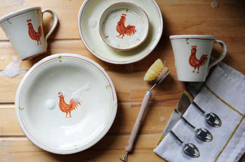 Rusty Rooster Dinner Plate