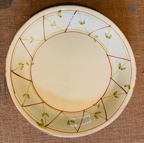 Trellis Pattern Small Plate