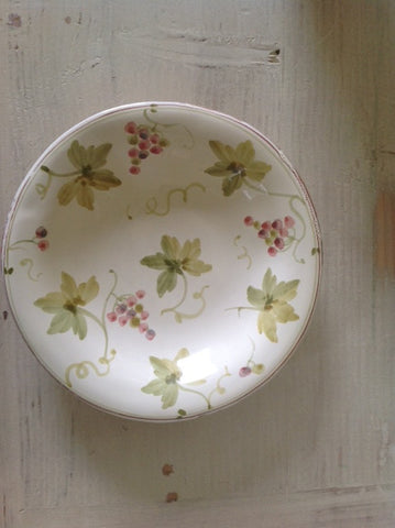 Grapevine Patterned Dish