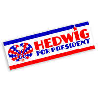 Hedwig for President Bumper Sticker