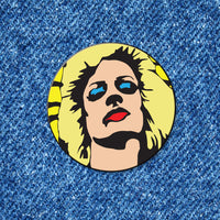 Hedwig Portrait — Criterion Mugshot Pin