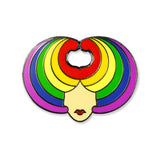 Wig Head — Gay Pride Limited Edition Pin