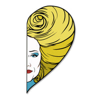 Half Heart — Hedwig Limited Edition Pin