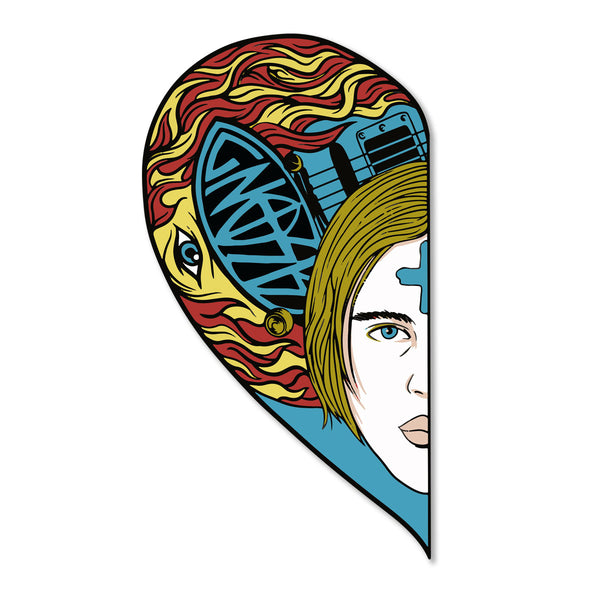 Half Heart — Tommy Limited Edition Pin
