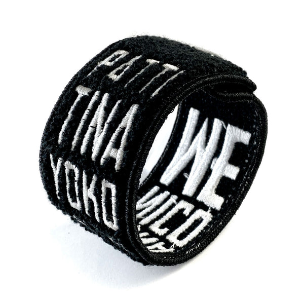 Strange Rock n' Rollers Patch Cuff
