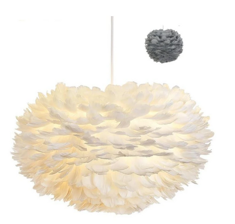 FEATHER LIGHT SHADE