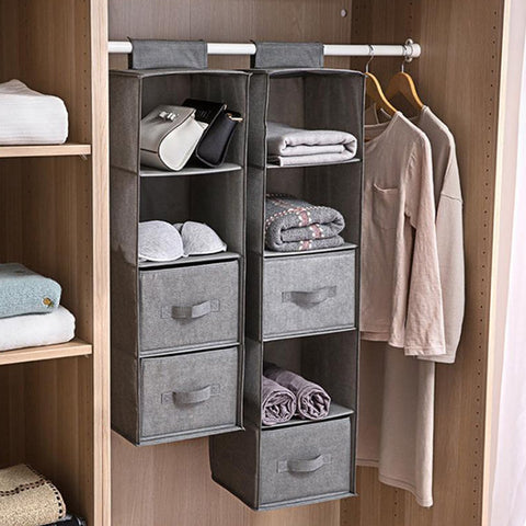 Wardrobe Hanging Storage Bag