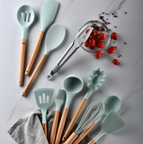 12 pcs Silicone Cooking Utensil Set