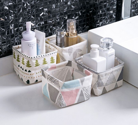 Bathroom Basket Organizer