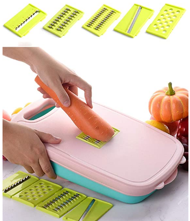 9 In 1 Foldable Cutting Board Set