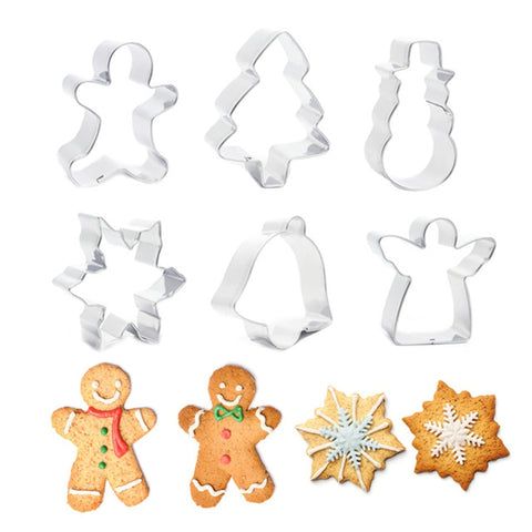 ANIMAL SHAPE & CHRISTMAS COOKIE CUTTERS