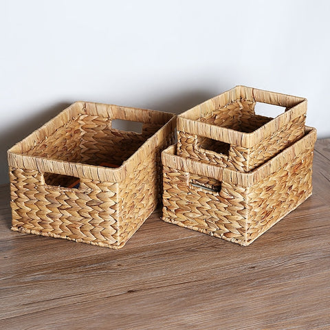 Bamboo Wicker Baskets