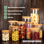 Kitchen Glass Storage Jars