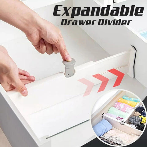 Space Saving Expandable Drawer Divider