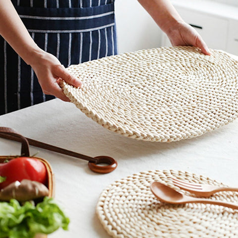 Woven Natural Dining Table Mat