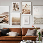 SCANDINAVIAN GRASS REED POSTER