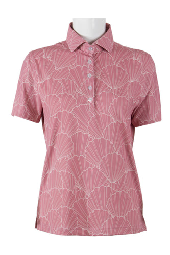 Mauve Sunrise Shell Polo