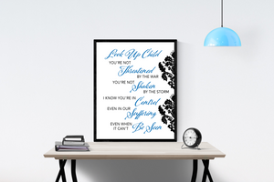 Look Up Child by Lauren Daigle | Lyrics Wall Art
