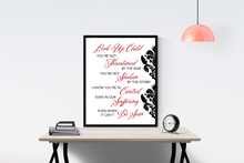 Load image into Gallery viewer, Look Up Child by Lauren Daigle | Lyrics Wall Art