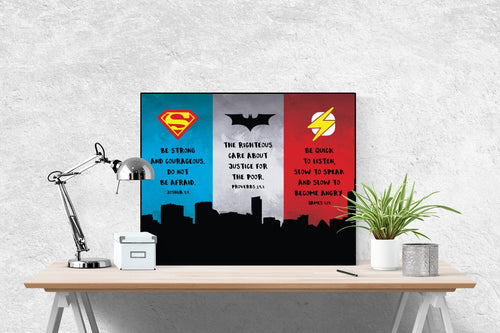 Super Heroes of the Faith | Art Print