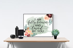 Known by Tauren Wells | Lyrics Wall Art Print