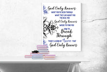 Load image into Gallery viewer, God Only Knows by King and Country | Lyrics Art Print