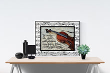Load image into Gallery viewer, Worship The Lord With Gladness | Psalm 100:2 Art Print
