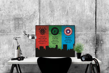 Load image into Gallery viewer, Super Heroes of the Faith 1 | Art Print