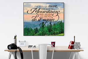Do It Again by Elevation Worship | Art Print