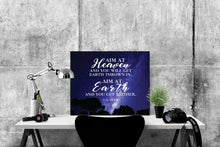 Load image into Gallery viewer, C.S. Lewis Quote Art Print | Aim At Heaven 2