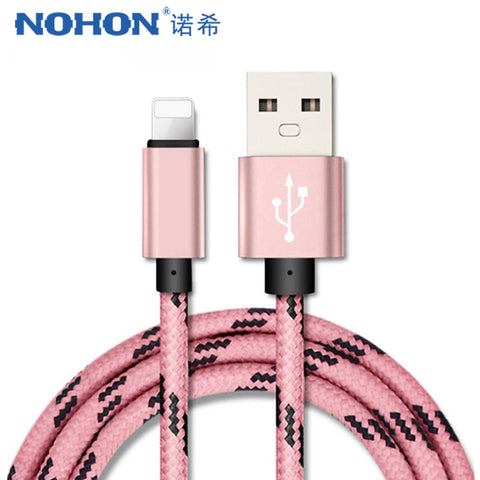NOHON 8 Pin USB Cable For iPhones