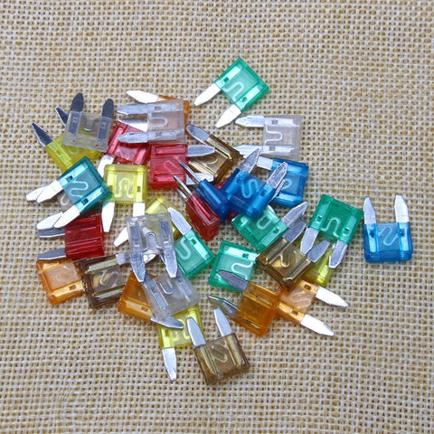 Assorted Car Truck Fuses 5/10/15/20/25/30 - 30PCS